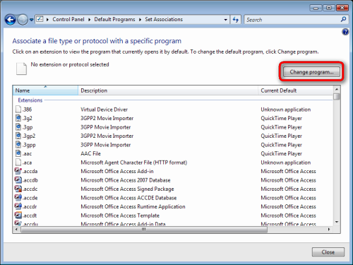how to change default opening program for pdf files