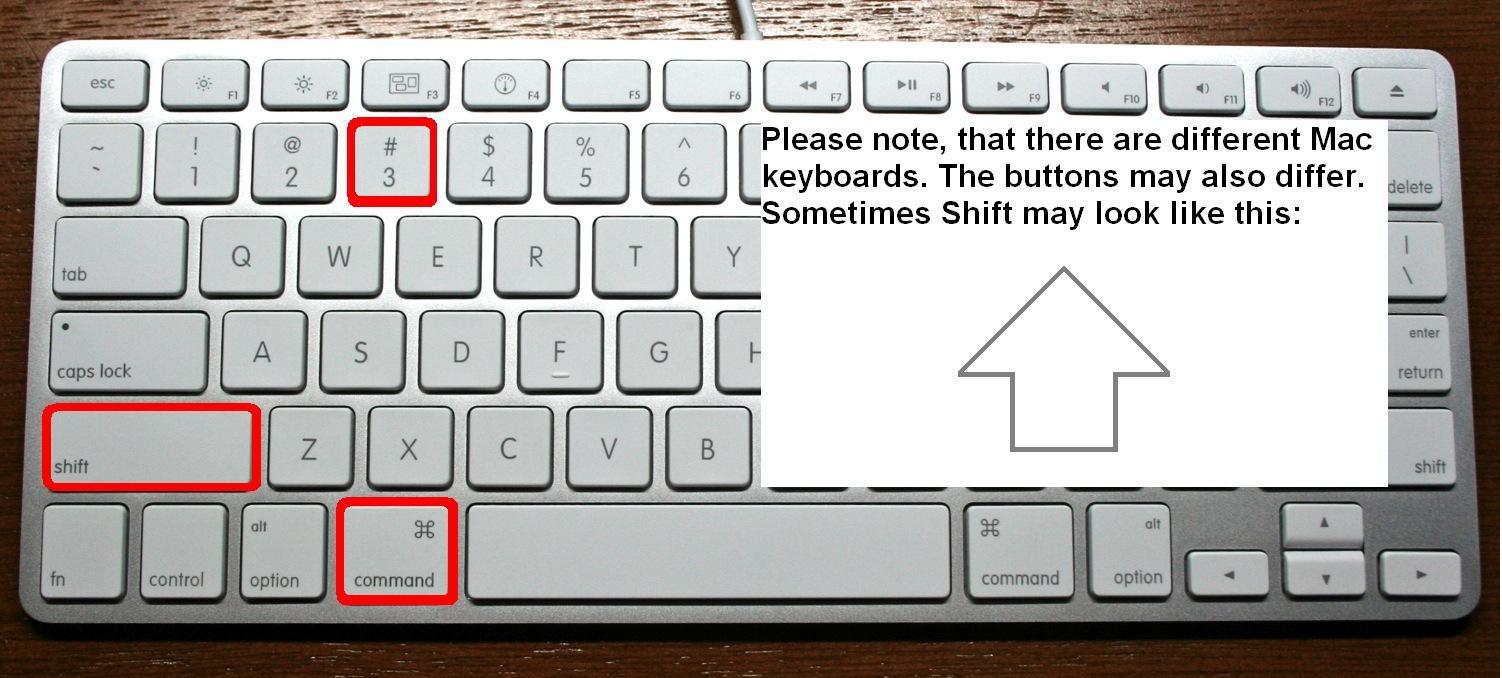 how to take a screenshot on a mac computer