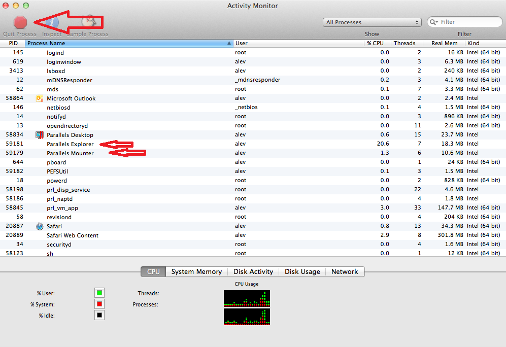 how to tell which build of osx