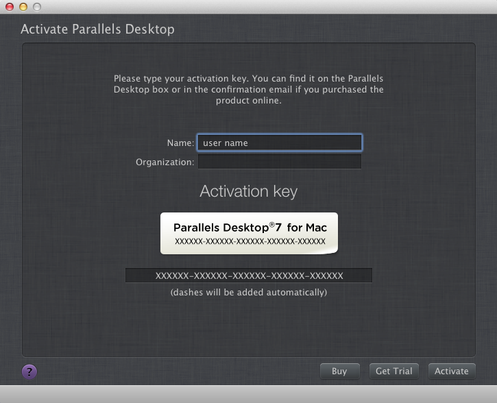 Parallels Desktop 7.0 for Mac + Activation Key 2012