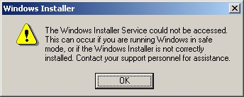 Accessing windows installer service troubleshooting windows update agent
