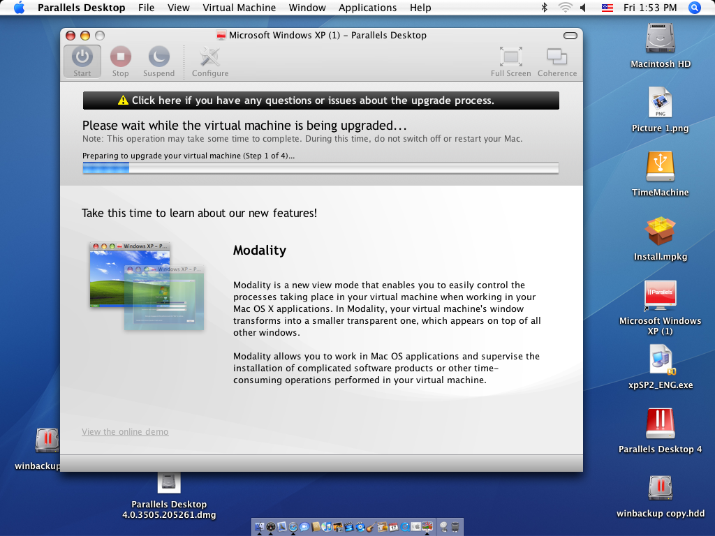 kb parallels i upgraded to new version of parallels desktop for mac rh kb parallels com