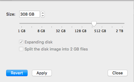 KB Parallels: How to give more hard disk space to a Windows