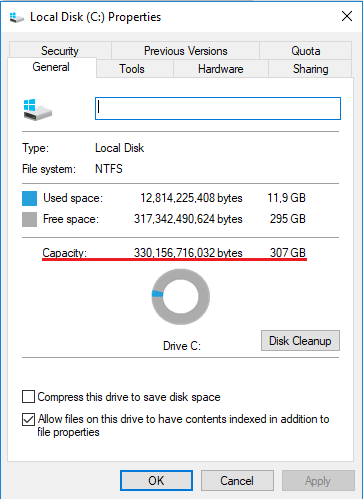 How to give more hard disk space to a Windows virtual machine