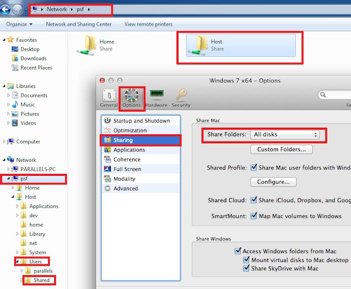 access shared folder windows from mac