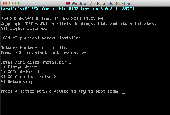 Migrated Windows virtual machine crashes with BSOD 7B
