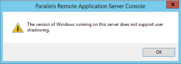 The version of Windows running on this server does not