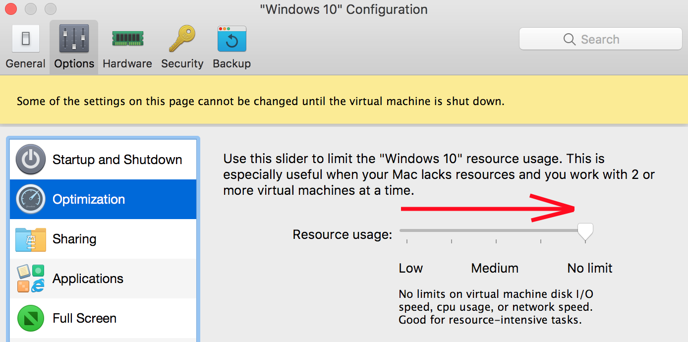 Slow internet connection in Windows virtual machine
