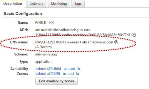 Parallels RAS Front-End Load Balancing using AWS Elastic