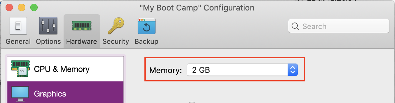 Use automatic graphics memory in Parallels Desktop 14 for Mac