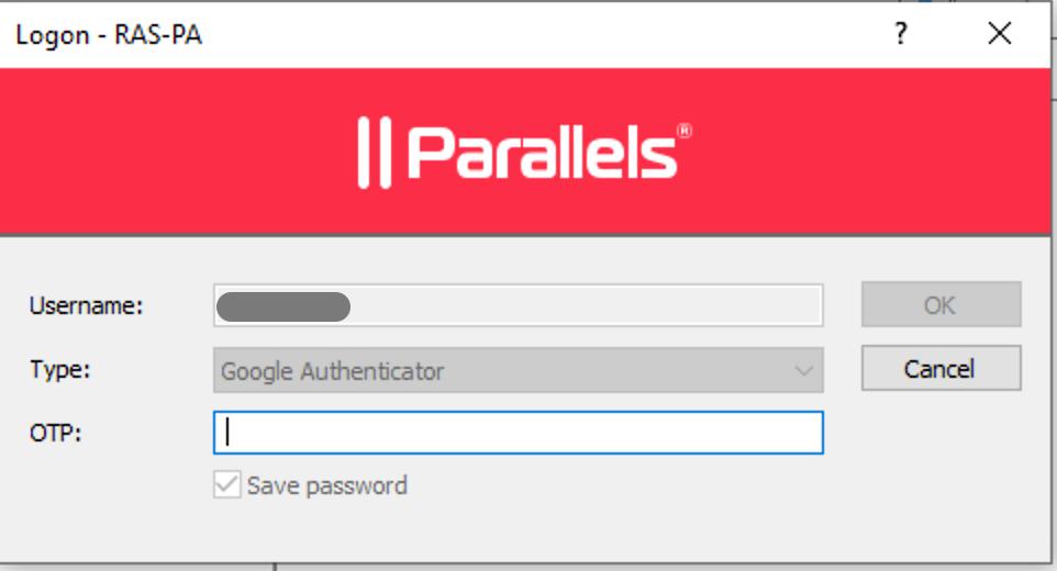 Google Authenticator Support