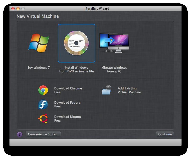 how to create a virtual machine for mac