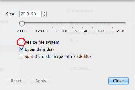 How to resize virtual hard disk using 'Partition Wizard'