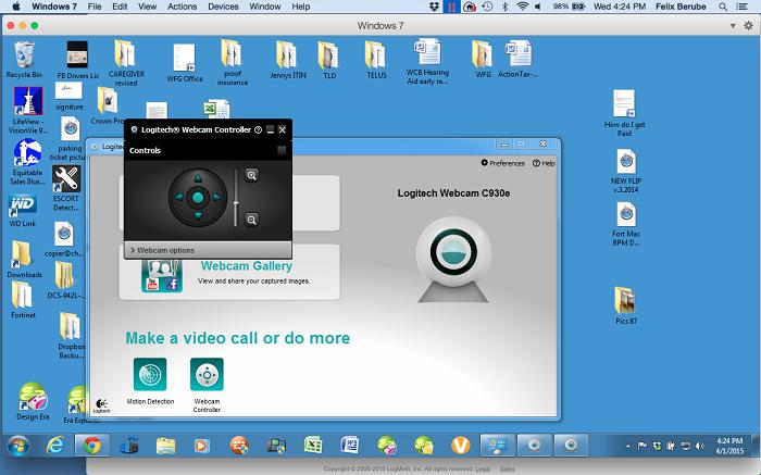 By Photo Congress || Test Logitech Webcam Windows 7