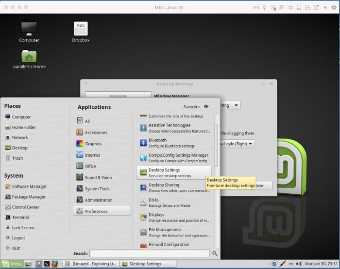 Disabling Desktop Visual Effects in Linux virtual machines