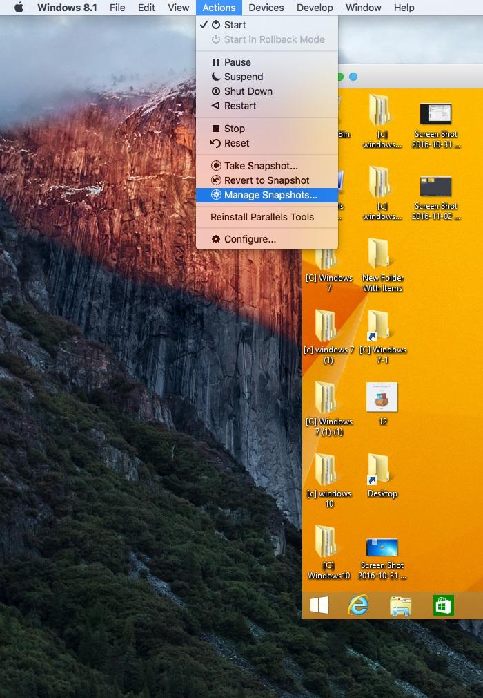 How to start, suspend or shut down parallels desktop 9 virtual.