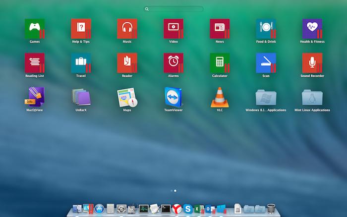 Adding Windows applications to Mac Launchpad