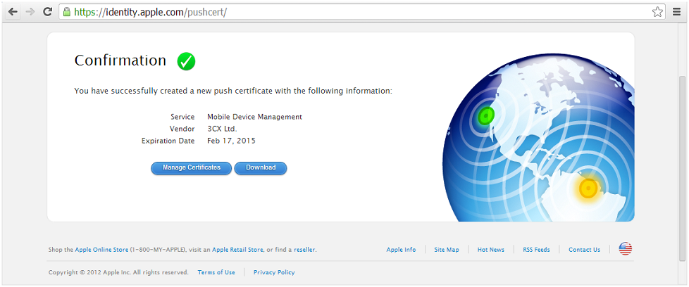 KB Parallels Obtaining An Apple Push Certificate For Mobile - Download map of us apple