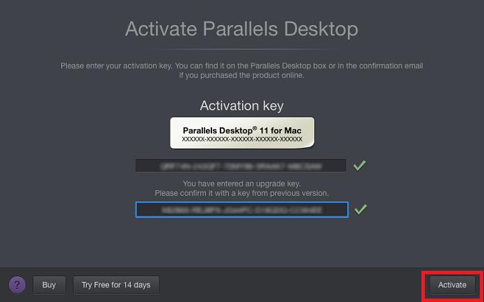 Parallel Desktop For Mac Free Activation Key