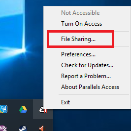 How can I share a file from a remote computer?