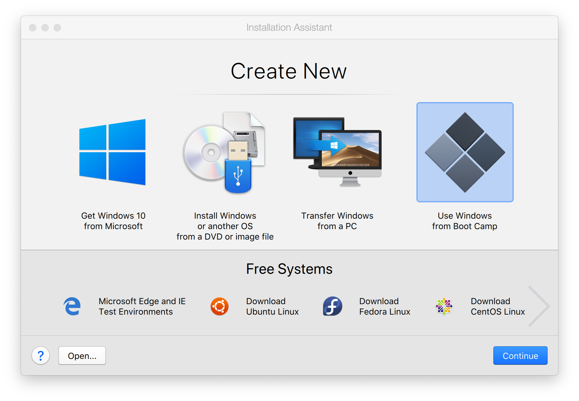 Use Boot Camp in Parallels Desktop