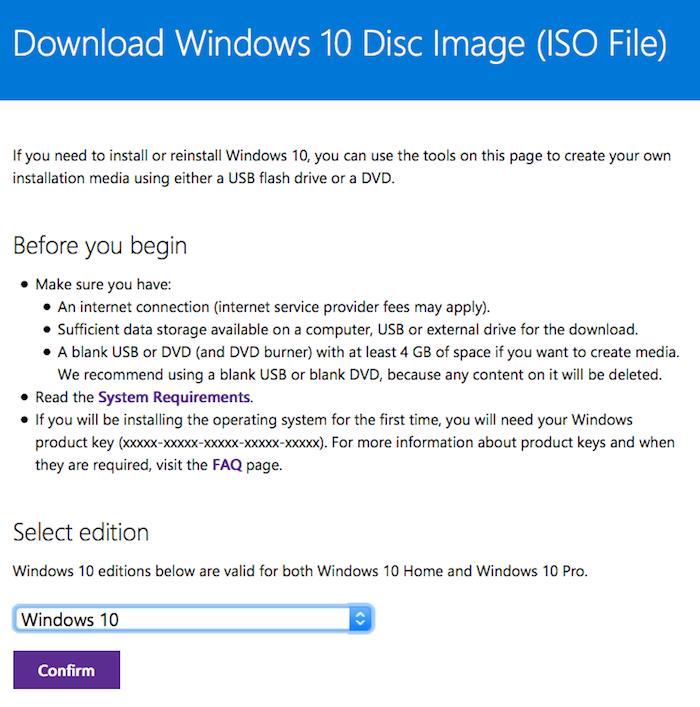 How do I get Windows 10 to run in a virtual machine?