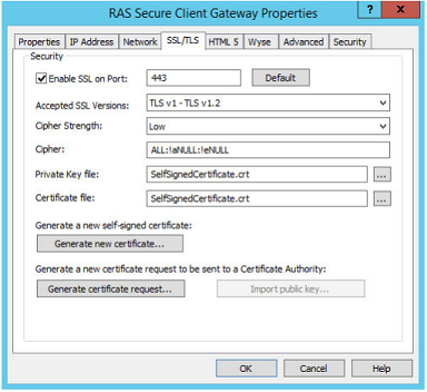 KB Parallels: How to Generate a Self-Signed Certificate using ...