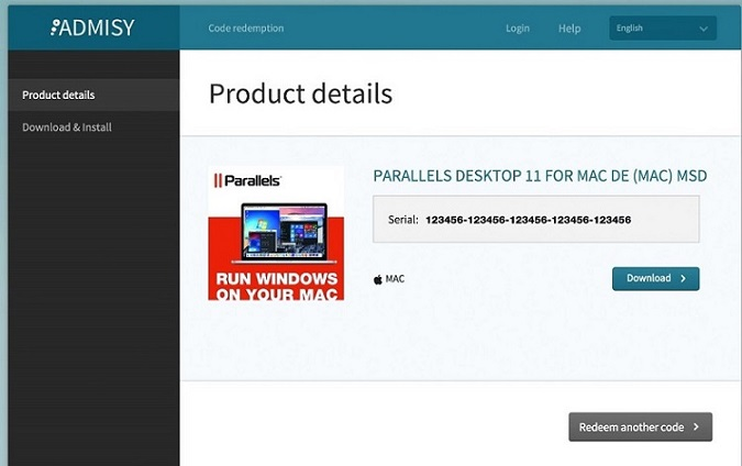 parallels 12 activation key free