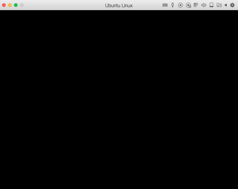 Black screen after express installation of Ubuntu Server