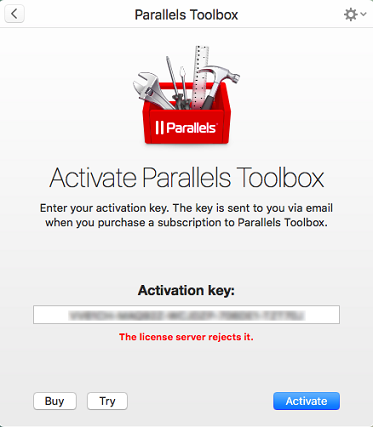 activation key for parallels 11 free