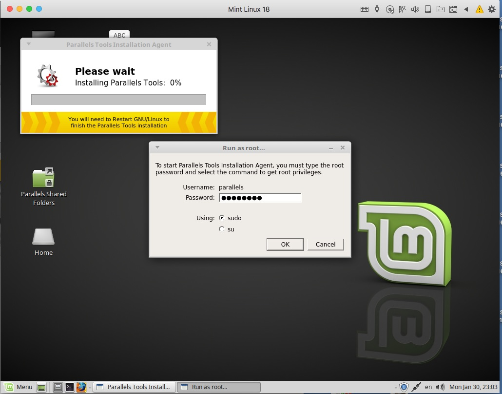 KB Parallels: Installing Linux Mint on your Mac using Parallels Desktop