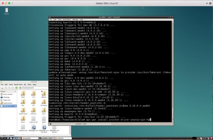 install latest gcc debian