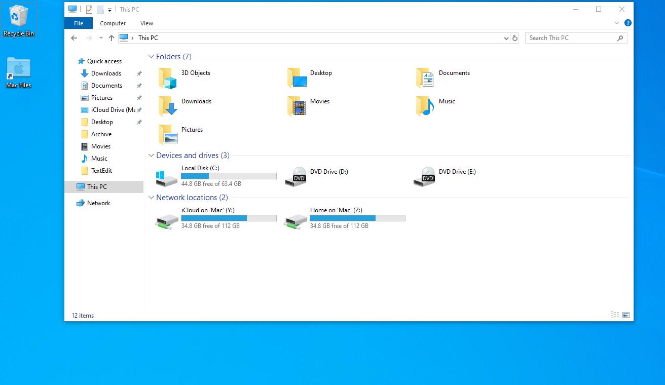 Windows virtual machine display resolution issues on Macs