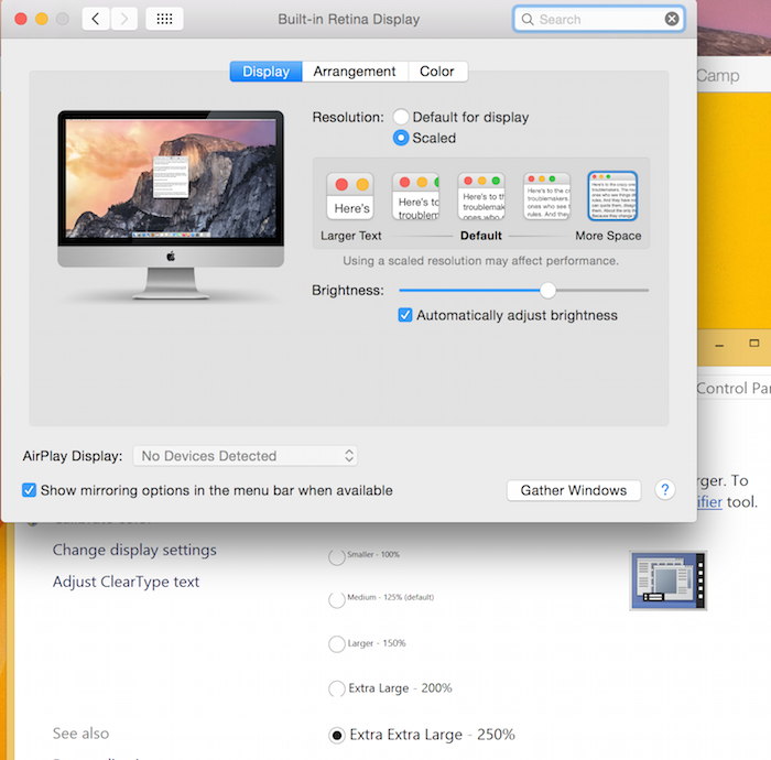 Virtual Machine display resolution issues on Macs with Retina display