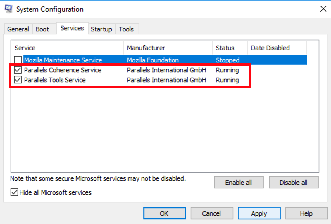 Network issues in Windows virtual machine